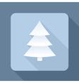 tree shadow vector image vector image