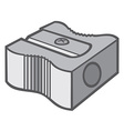 Pencil sharpener vector image vector image