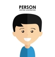 person avatar vector image