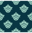 Retro light green seamless pattern vector image
