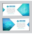 marine water banners vector image