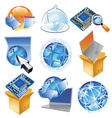 Concepts for IT-business vector image vector image
