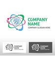 science logo design vector image vector image