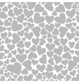 Heart a background2 vector image