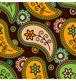 Colorful paisley pattern vector image vector image