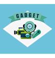 gadget tech vector image