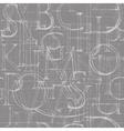 Font Antiqua Pattern vector image