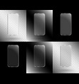 frames in the form of a smartphone vector image