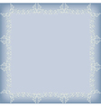 frame pattern gray vector image vector image