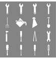 Instruments and tools icon set vector image