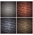 bricks walls vector image
