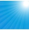sunburst back vector image