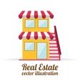 real estate design vector image