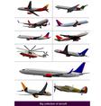 al 0928 aircraft vector image