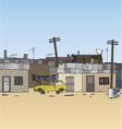 Ghetto background vector image