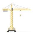 building crane 01 vector image