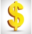 Business money and global economy vector image