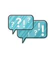 Dialog Windows Icon vector image