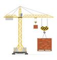 building crane 02 vector image