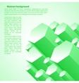 Creative green vector image