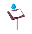 icon music stand vector image vector image