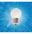 White Lamp on the Background vector image vector image