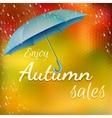 Enjoy autumn sales EPS 10 vector image vector image