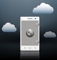 protection of information on your smartphone vector image