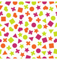 seamless primitive geometric pattern vector image