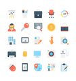 Office and Stationery Icons 2 vector image