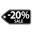 Sale sticker vector image