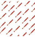baseball bat equipment vector image