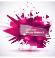 an abstract explosion vector image