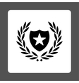 Shield icon from Award Buttons OverColor Set vector image