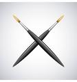 paint brush supply school vector image