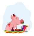 rainbow life vector image vector image