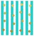 Gold glitter dots seamless pattern with vector image