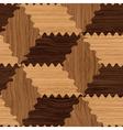 wooden pattern vector image vector image