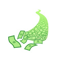 River of Money vector image