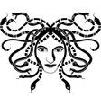meduse gorgona vector image vector image