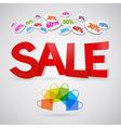 sale colour vector image