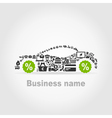Car business2 vector image