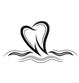 Tooth health vector image