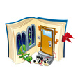 Story book vector image