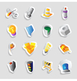 Icons for industry and technology vector image vector image