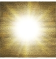 Abstract brick background blurry light effects vector image