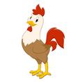 Cartoon Rooster vector image