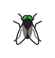 fly icon vector image