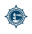 Lighthouse Emblem vector image