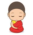 Tibetan Buddhism vector image